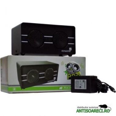 Aparat cu ultrasunete anti daunatori - soareci, sobolani, dihori, insecte taratoare - Transonic PRO