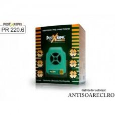 Aparat cu ultrasunete anti rozatoare, dihori si vulpi - PR-220.6