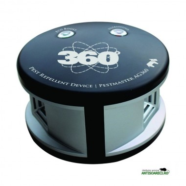 Aparat cu ultrasunete anti insecte taratoare si rozatoare - Pestmaster AG360