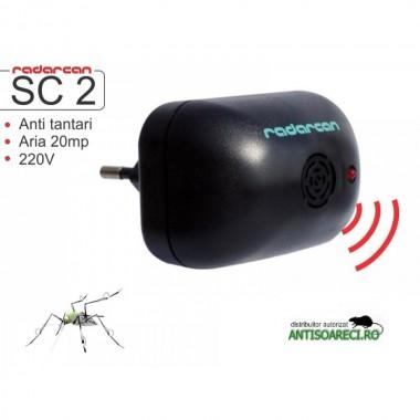 Aparat cu ultrasunete impotriva tantarilor - Radarcan SC 2