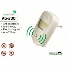Aparat cu unde electromagnetice impotriva insectelor taratoare si rozatoarelor - AG230