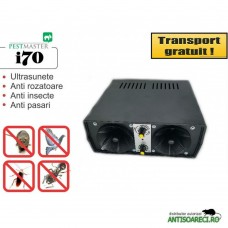 Aparat ultrasonic industrial Pestmaster i70 - impotriva soarecilor, sobolanilor, pasarilor si insectelor