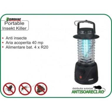 Aparat anti insecte zburatoare - Portable Insect Killer