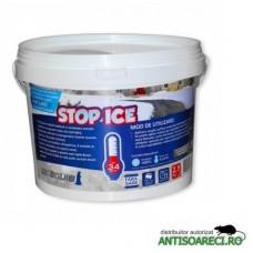STOP ICE-produs biodegradabil pentru deszapezire, prevenire / combatere gheata, dezghetare rapida
