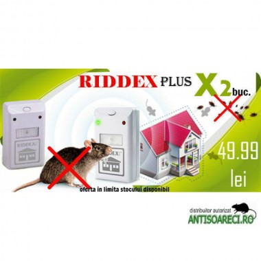 Protejeaza-ti CASA cu pachetul revolutionar Riddex Plus