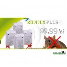 Aparat cu unde electromagnetice Riddex Plus - 4 bucati