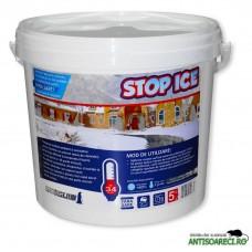 STOP ICE - produs biodegradabil pentru prevenire si combatere gheata 5 kg