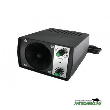 Pestmaster I40 aparat industrial cu ultrasunete impotriva rozatoarelor, pasarilor si insectelor