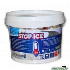STOP ICE - produs biodegradabil pentru prevenire si combatere gheata 2.5 kg