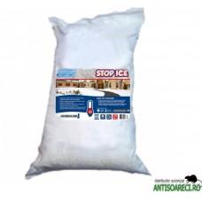 STOP ICE-produs biodegradabil pentru prevenire si combatere gheata 25kg