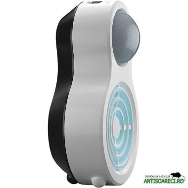 Aparat portabil cu ultrasunete si senzor PIR impotriva cainilor si pisicilor HK1 70565