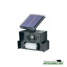 Dispozitiv solar anti caini si pisici, anti pasari cu senzor de miscare - Conrad