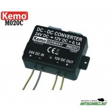Convertor de tensiune 24V - 12V - Kemo M020