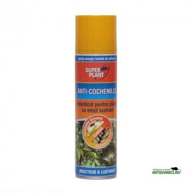 Insecticid cu efect lustrant Super Plant 250 ml
