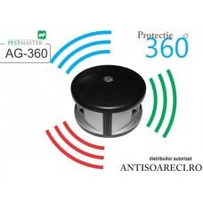 Aparat cu ultrasunete anti rozatoare, gandaci - Pestmaster AG360