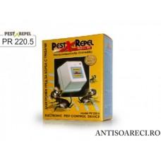 Aparat cu ultrasunete impotriva soarecilor si gandacilor - PR220.5 - 50 mp