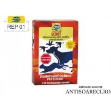 Praf solubil impotriva animalelor (pasari, caini, pisici) - REP 01
