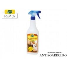 Spray anti caini si pisici pentru uz exterior - REP 02