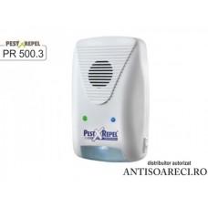 Dispozitiv electronic cu ultrasunete impotriva rozatoarelor si insectelor - PR-500.3