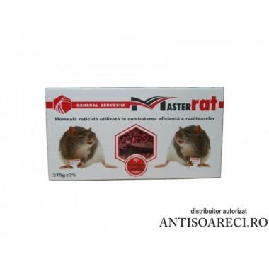 Momeala raticida - K.O Rat grau (375 g)