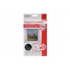 Plasa pentru usa impotriva insectelor 150 x 180 cm (alba / neagra)