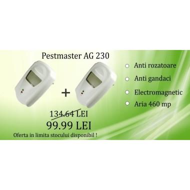 Aparat cu unde electromagnetice impotriva daunatorilor - AG230 (OFERTA DE SEZON 2 bucati la 99.99)