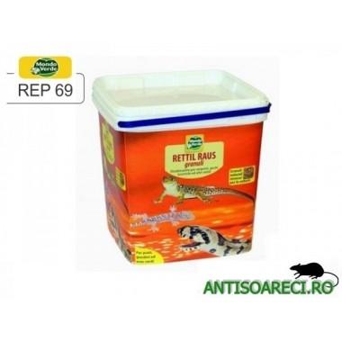 Granule anti-reptile: serpi, soparle, gustere (3 000 ml) - REP 69