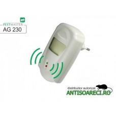 Aparat cu unde electromagnetice impotriva rozatoarelor si insectelor taratoare - AG230